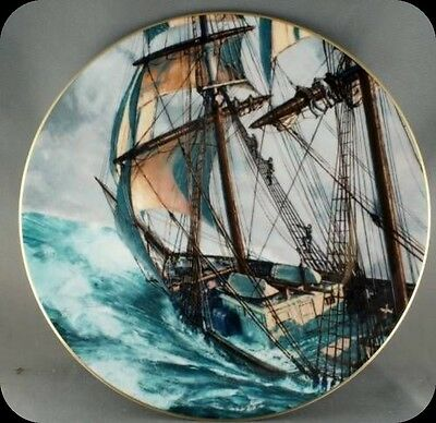 John Stobart Rounding the Horn Royal Doulton Ship Collector Plate Lmt to 15000