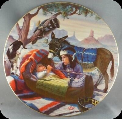 Gregory Perillo Papoose Collector Plate RARE Limited to 3500 plates