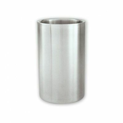 6x Wine Cooler / Champagne Bucket, Insulated Stainless Steel, Satin Finish 250mm