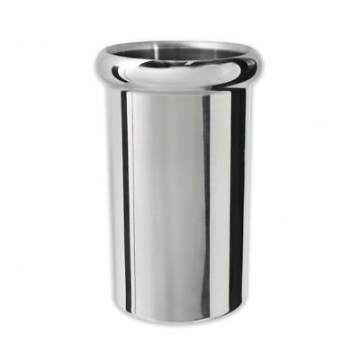 6x Wine Cooler / Champagne Bucket, Insulated Stainless Steel, Mirror Finish