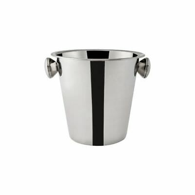 Wine Cooler / Champagne Bucket, Mirror Polished Stainless Steel, 210mm NEW
