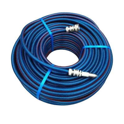 "2 X 30M Flexible Garden Water Hose 12mm - 1/2"" Brass Fittings MADE IN AUSTRALIA!"