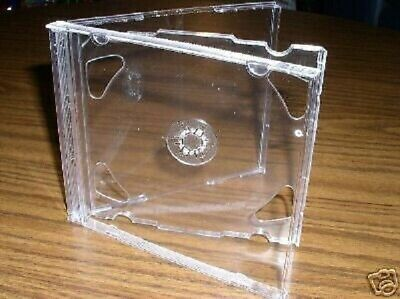 200 New 10.4Mm Double Cd Jewel Cases W/ Clear Tray - Psc36
