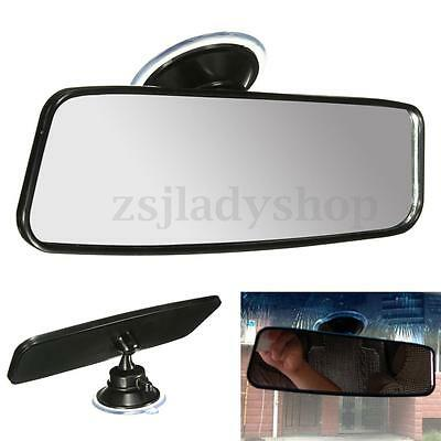 260mm Universal Wide Flat Car Truck Mirror Interior Rear View Mirror Suction