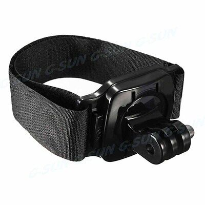 360 Degree Rotation Hand Arm Wrist Strap Chest Tripod Holder Mount for Camera
