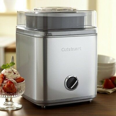 Ice Cream Sorbet and Frozen Yogurt Maker 2L Machine Fully Automatic 17 Recipes