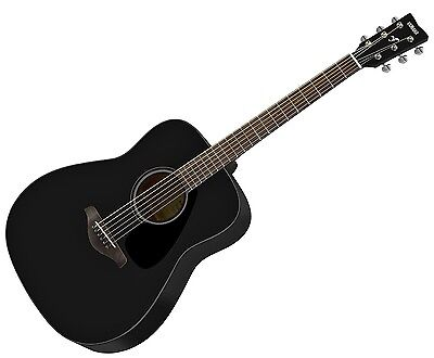 Yamaha FG820-BL Acoustic Folk Guitar (Black). New