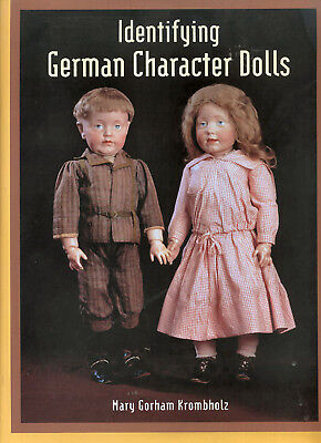 ID German Character Dolls Mary Krombholz, NEW book Kestner, Armand Marseille
