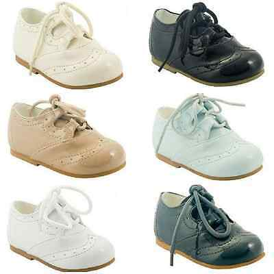 Toddler Boys First Walking Pram Special occassion Christening Shoes