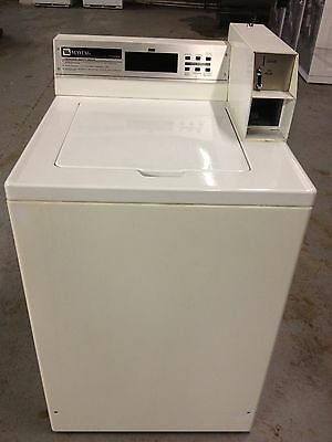 Maytag MAT12PD Commercial Coin Operated Top Load Washer - Coin Laundry