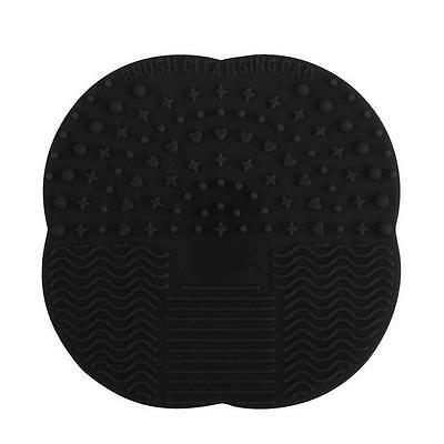 Silicone Makeup Brush Cleaner Washing Scrubber Board Cosmetic Cleaning Mat uf