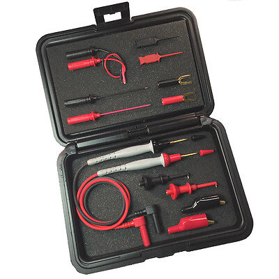 PROBEMASTER 8043SK-60  Master Test Lead Kit IN STORAGE CASE- FITS FLUKE-60 inch