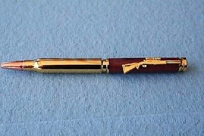 24KGold, 30 Caliber Twist Bullet Pen Kit
