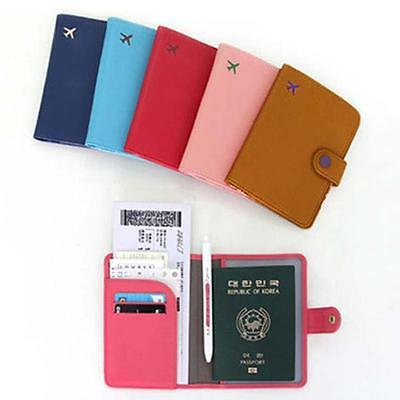 New Travel Organizer ID Card Passport Holder Protector Cover Case Wallet uf