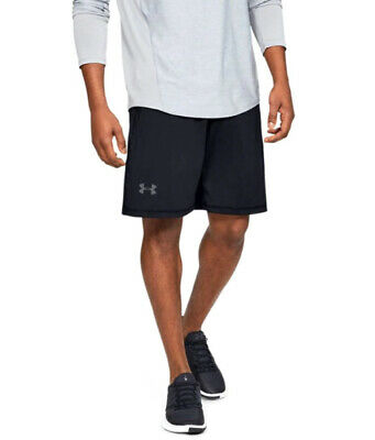 Under Armour UA Raid HeatGear® 10-inch Men's Black Athletic Gym Shorts