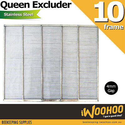 Beekeeping Queen Excluder 202 Stainless Steel 10 Frame Accessory for Beehive