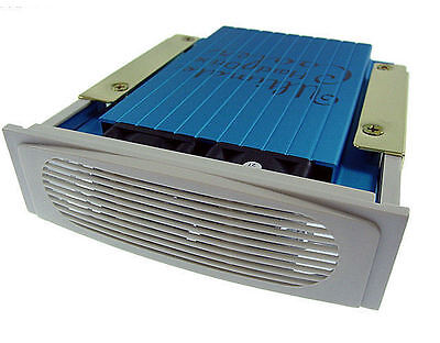 Beige Ultimate Hard Drive cooler with 2 x 40mm fans