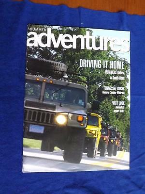 Hummer Adventure Magazine Brochure Fall 2002 Csi Miami Article