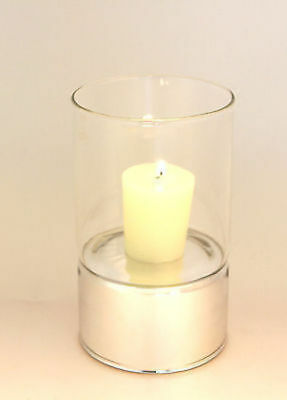 12 x clare level Glass Candle Holder 15cm Bulk Wholesale lot reduced to clear