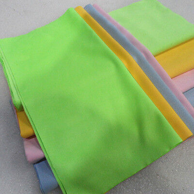 1pc Colorful Square Microfiber Glasses Eyeglass Lens Cleaning Cloth