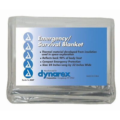Emergency Rescue Space Thermal Mylar Blanket 84 x 52  New ! Free Shipping !