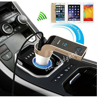 In-Car Technology Kit Bluetooth Handsfree FM Transmitter MP3 Player USB + Remote