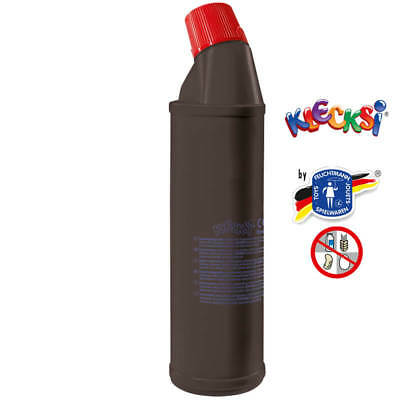 (8,72€/1kg) Klecksi Malfarbe Fingerfarbe Fingermalfarbe schwarz 900 gr. Made In