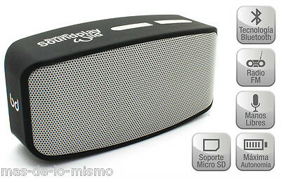 Altavoces Bluetooth Biwond SoundPlay Wild Inalambrico Estereo SmartPhone Tablet