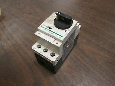 Schneider Electric Manual Motor Starter GV2-P08 Range: 2.5-4A Used