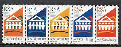 South Africa MNH 1996 New Democratic Constitution