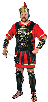 Halloween Lifesize ROMAN ARMOUR GOLD WASH ADULT MEN COSTUME Haunted House