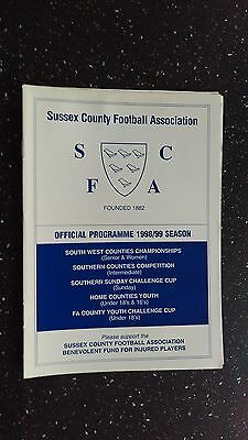 Sussex County V Surrey County 1998-99