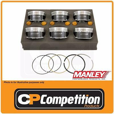 "Manley Forged Piston & Ring Set Ford BA to FG XR6 Turbo 3.637"" Bore / -16cc"