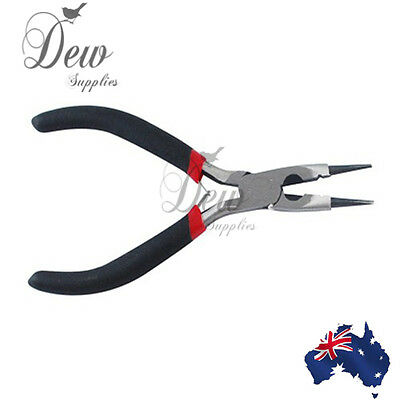Round nose pliers beading jewellery making tools wire cutters combo