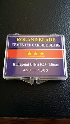 ROLAND BLADES - BOX of 3 - VINYL CUTTER PLOTTER MACHINE