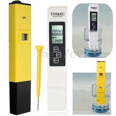 Digital LCD TDS EC PH Meter Water Purity Quality TEMP PPM Temperature Tester Pen