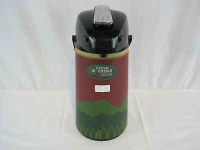 Green Mountain Coffee Roasters Model 67134 Airpot Thermal Dispenser (OAY32023)