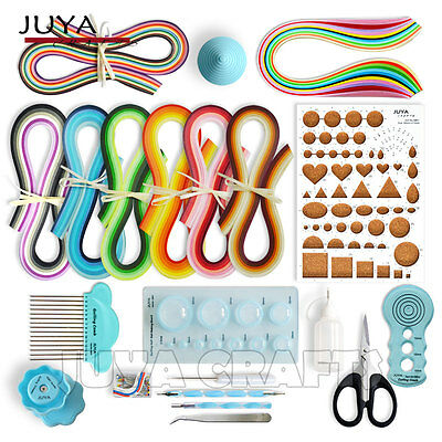 Juya Paper Quilling Kits with 960 Strips and 13 Tools