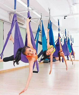 High Strength Inversion Therapy Anti-Gravity Aerial Yoga Gym Swing Blue