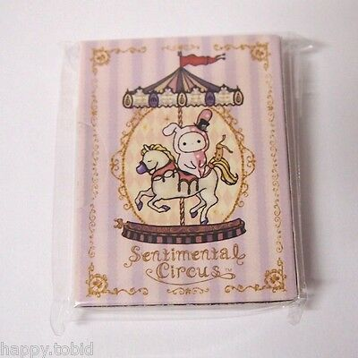 Authentic San-X Sentimental Circus Mini Notebook Collection From Japan - C