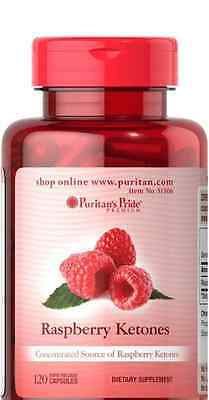 RASPBERRY KETONES 100MG  * PURITANS PRIDE *  x120 CAPSULES - FAST DELIVERY