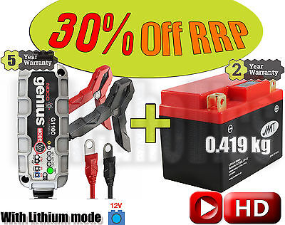 Lithium Deal - Battery + charger - KTM Freeride 350 4T - 2012