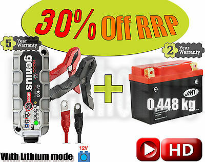 Lithium Deal - Battery + charger - Royal Enfield Bullet 500  Standard- 2000