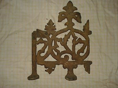 *Victorian Architectural Rooftop Finial*cast-iron