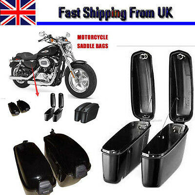 Motorcycle Accessories Trunk Saddlebags Saddle Bags Side Hard Case for Harley-UK