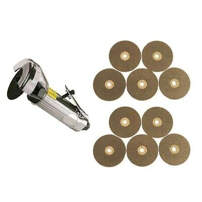 "3"" Air Cut Off Tool Grinder Cutter Tools + 11 Cutting Discs"