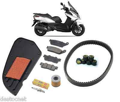 Pack Révision Courroie Filtre frein Galets Bougie Kymco Dink Street 125 i 09-15