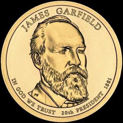 "2011 D James Garfield Presidential Dollar ""Brilliant Uncirculated"" Coin US Mint"