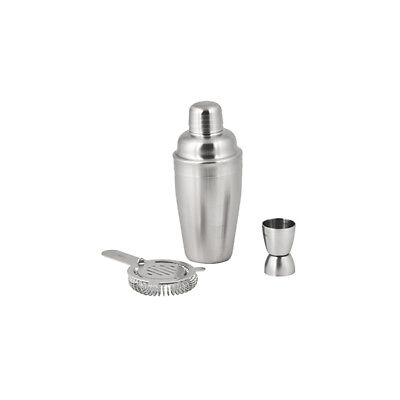 Cocktail Set, Stainless Steel, Athena 5 Piece, Hawthorne Strainer & Jigger