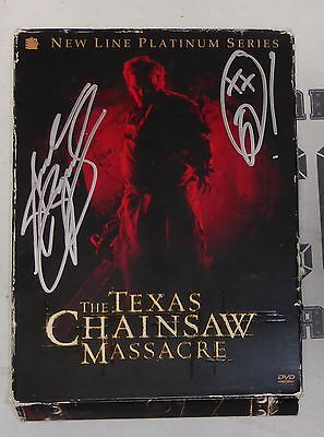 Andrew Bryniarski Signed The Texas Chainsaw Massacre DVD PSA/DNA COA Autograph